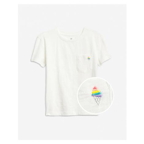 GAP Kinder  T‑Shirt Weiß