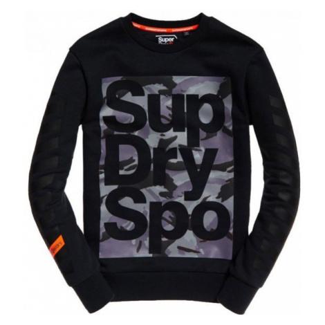 Superdry COMBAT BOXER CREW schwarz - Herren Sweatshirt