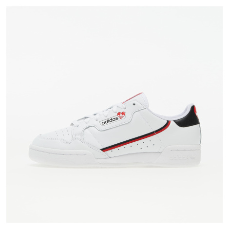 adidas Continental 80 Ftw White/ Core Black/ Scarlet