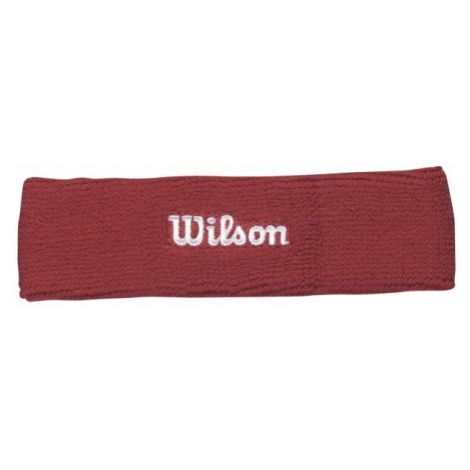 Wilson HEADBAND RD OSFA rot - Tennis Stirnband