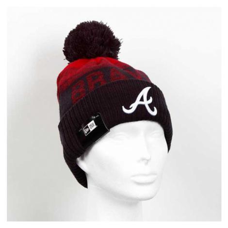 New Era MLB Sport 2 Cuff Knit Atlanta Braves Black Red