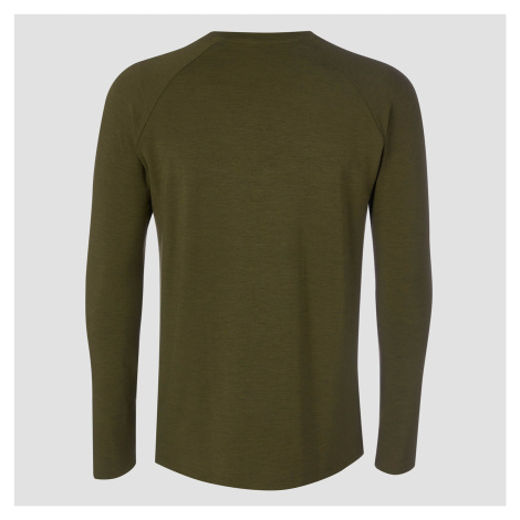 MP Performance Long Sleeve T-Shirt - Militärgrün/Schwarz
