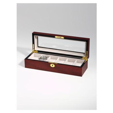 Rothenschild Uhrenschatulle RS-1087-6C fuer 6 Uhren cherry