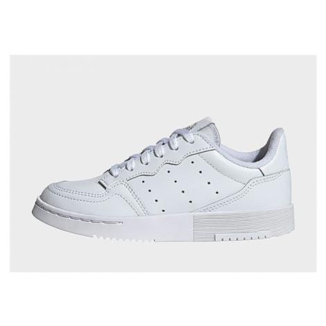 Adidas Originals Supercourt Schuh - Cloud White / Cloud White / Core Black, Cloud White / Cloud