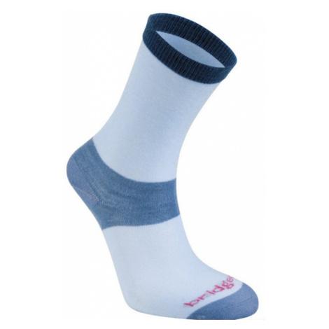 Socken Bridgedale Liner Base Layer Coolmax Liner Boot Women's x2 sky/402