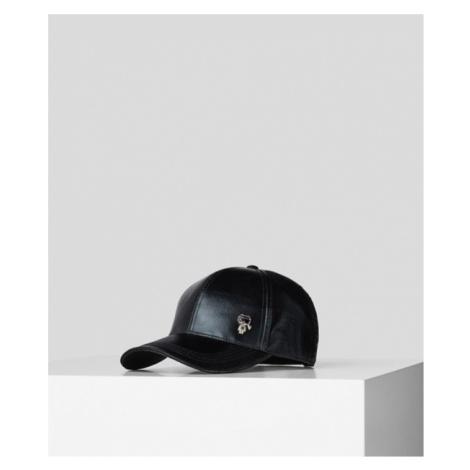 K/IKONIK METALLIC-CAP Karl Lagerfeld