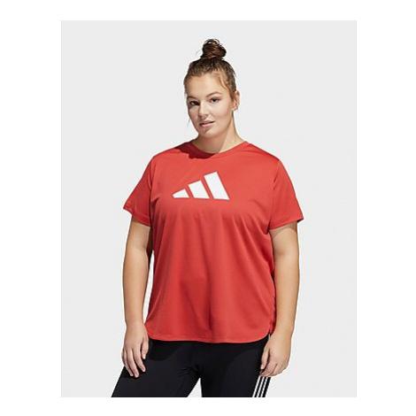 Adidas Badge of Sport T-Shirt - Große Größen - Crew Red / White - Damen, Crew Red / White