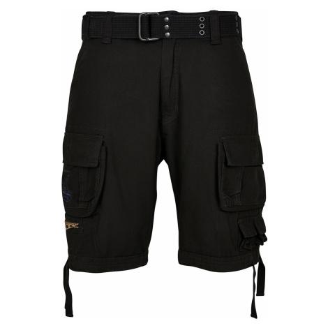 Brandit Shorts SAVAGE VINTAGE CARGO SHORTS BD2001 Black