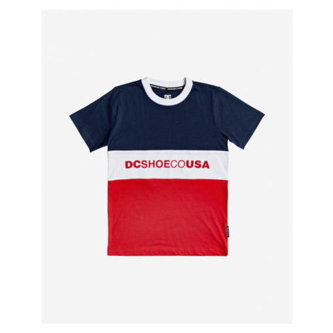 DC Glenferrie Kinder  T‑Shirt Blau Rot