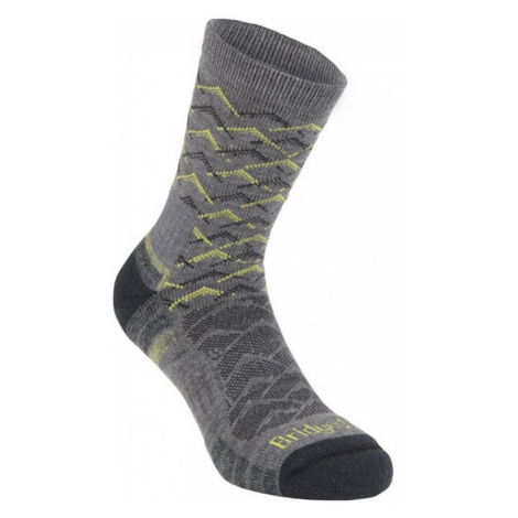 Socken Bridgedale Hike Lightweight Merino Performance Ankle grey/lime/118