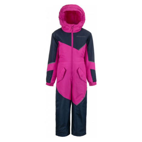 Rosa sportjacken und jumpsuits für mädchen