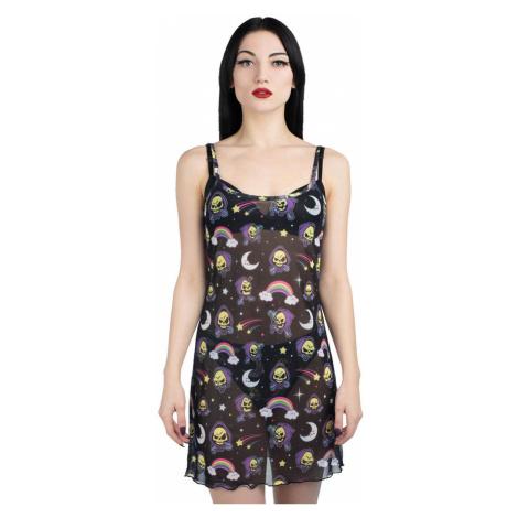 Damen Kleid KILLSTAR - Not Cute Mesh - SCHWARZ - KSRA002096