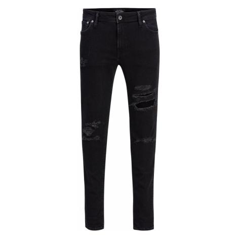 JACK & JONES Liam Original Am 502 Skinny Fit Jeans Herren Schwarz