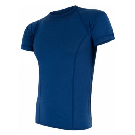 Herren T-Shirt Sensor MERINO AIR dark  blue 17200004