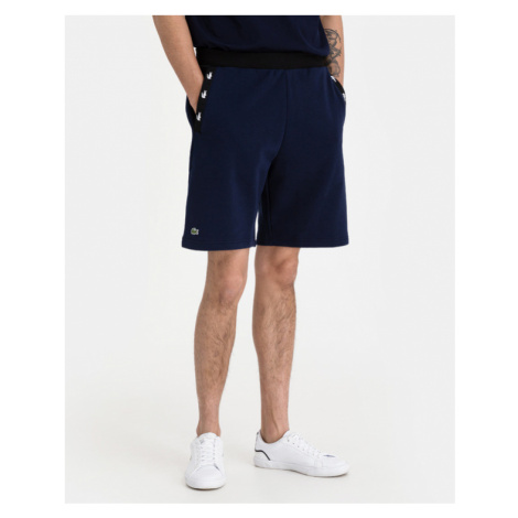 Lacoste Contrast Accents Shorts Blau