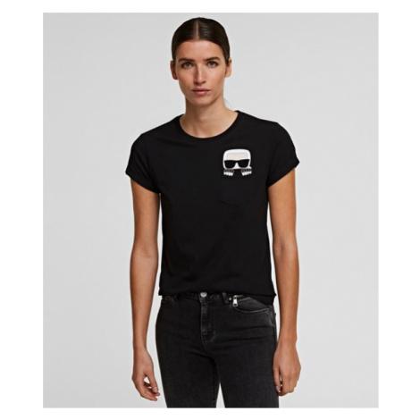 K/Ikonik T-Shirt mit Tasche Karl Lagerfeld