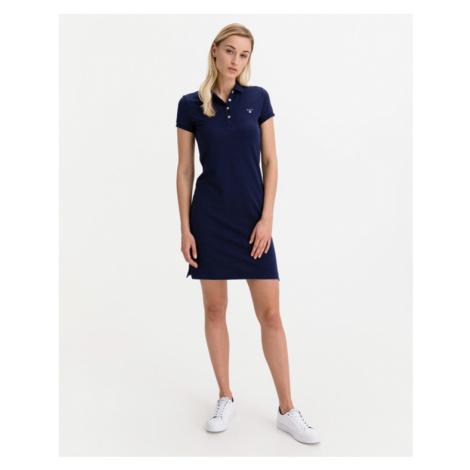 Gant Polo Kleid Blau