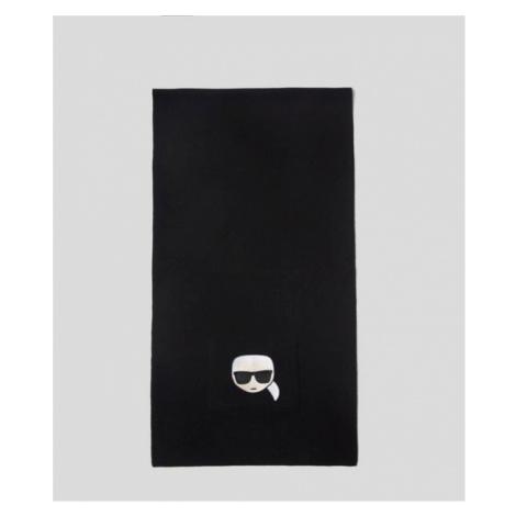 K/IKONIK BESTICKTER SCHAL Karl Lagerfeld
