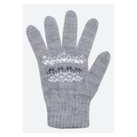 Kinder gestrickte Merino Handschuhe Kama RB203 109