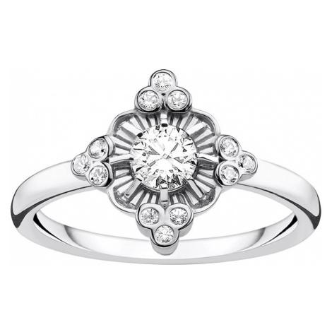 Thomas Sabo TR2221-643-14 Damen-Ring Royalty weiß