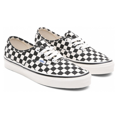 VANS Anaheim Factory Authentic 44 Dx Schuhe ((anaheim Factory) Black/check) Damen Weiß