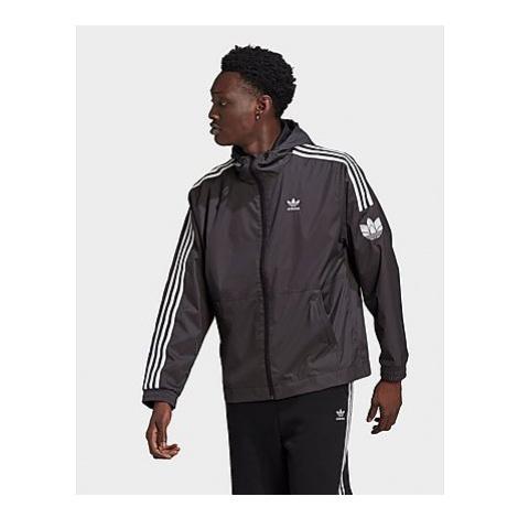 Adidas Originals Adicolor 3D Trefoil Windbreaker - Black - Herren, Black