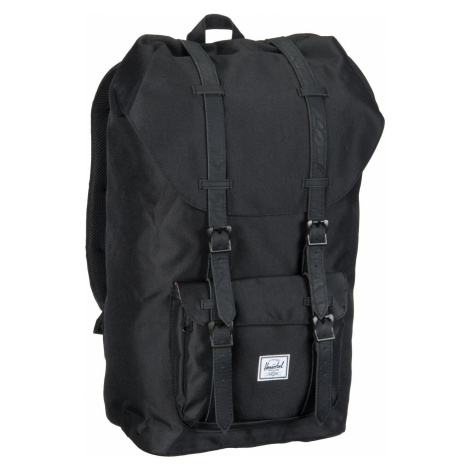 Herschel Laptoprucksack Little America Black/Black (25 Liter)