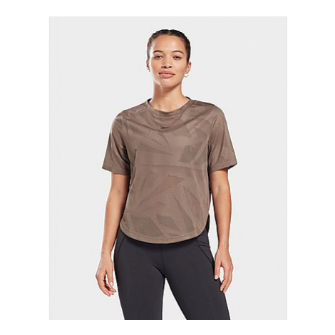 Reebok perforated t-shirt - Trek Grey - Damen, Trek Grey