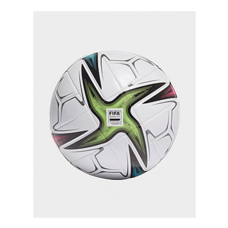 Adidas Conext 21 League Ball - Herren, White / Black / Shock Pink / Signal Green