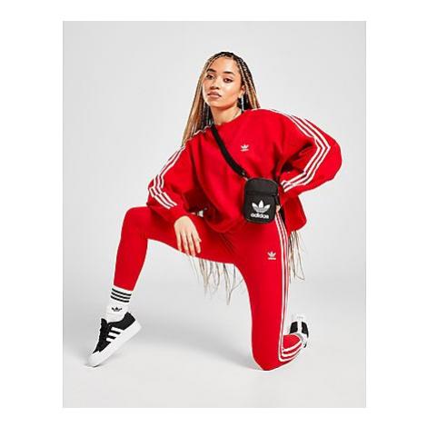 Adidas Originals Adicolor Classics 3-Streifen Leggings - Scarlet - Damen, Scarlet