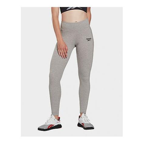 Reebok reebok identity leggings - Medium Grey Heather - Damen, Medium Grey Heather