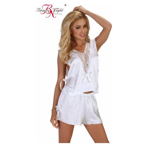 Reizwäsche sets für Damen Mellissa white Beauty Night Fashion