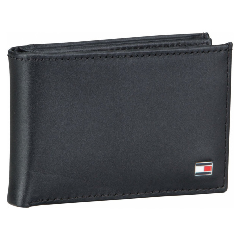 Tommy Hilfiger Geldbörse Eton Mini CC Flap & Coin Pocket Black (0.2 Liter)
