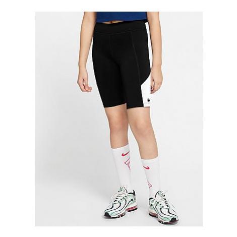 Nike Radlerhose Kinder - Black/White/Black - Kinder, Black/White/Black