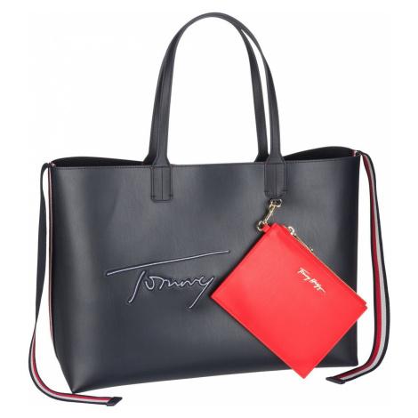 Tommy Hilfiger Handtasche Iconic Tommy Tote SP21 Desert Sky (19.3 Liter)