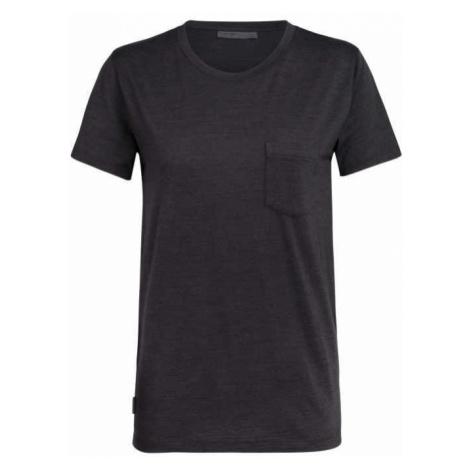 Icebreaker Nature Dye Drayden SS Pocket Damen T-Shirt braun Icebreaker Merino