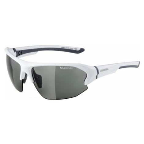 Alpina Sports LYRON HR VL weiß - Modische Sonnenbrille
