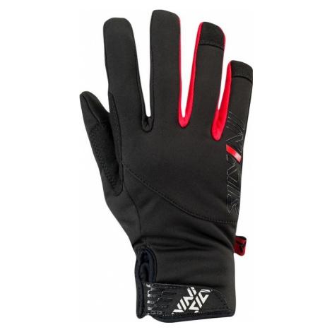 Kinder Sport- Softshell Handschuhe Silvini Ose CA1541 black 0820