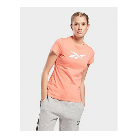 Reebok training essentials vector graphic t-shirt - Twisted Coral - Damen, Twisted Coral