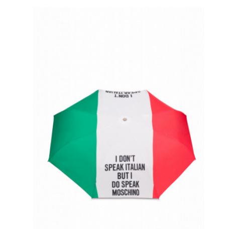 Regenschirm Openclose Italian Slogan Moschino