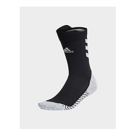Adidas Alphaskin Crew Socken - Black / White / White - Damen, Black / White / White