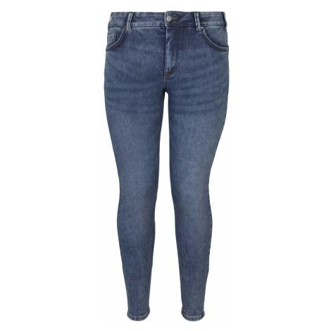 TOM TAILOR MY TRUE ME Damen Skinny Jeans mit Bio-Baumwolle , blau