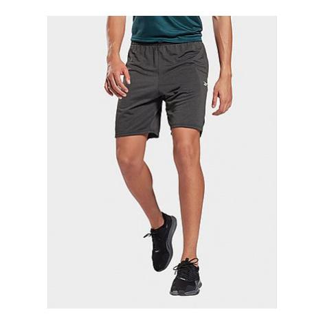 Reebok workout ready mélange shorts - Black - Herren, Black