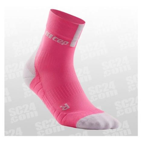 CEP Compression Short Socks 3.0 Women pink/grau Größe 37-40