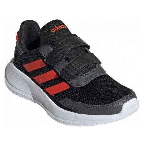 adidas TENSAUR RUN C schwarz - Kinder Sneaker