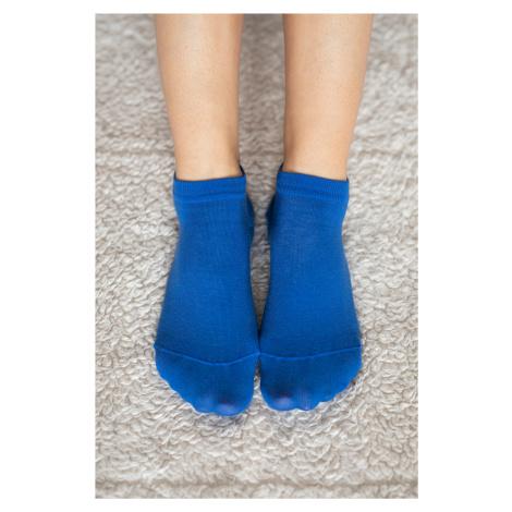 Barfuß-Socken - blau 35-38