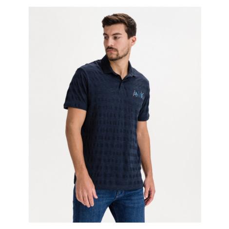 Armani Exchange Poloshirt Blau