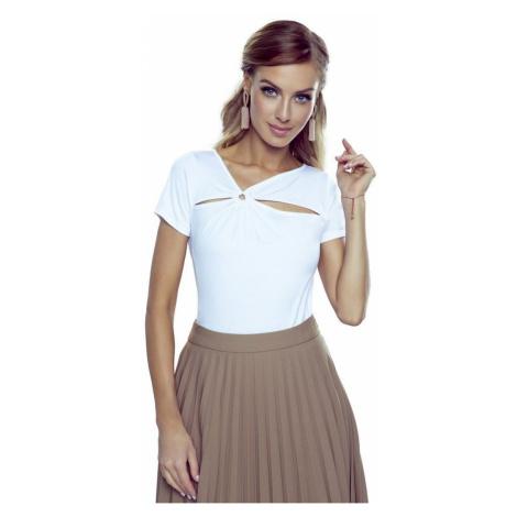 Damen Blusen Nina plus white Eldar