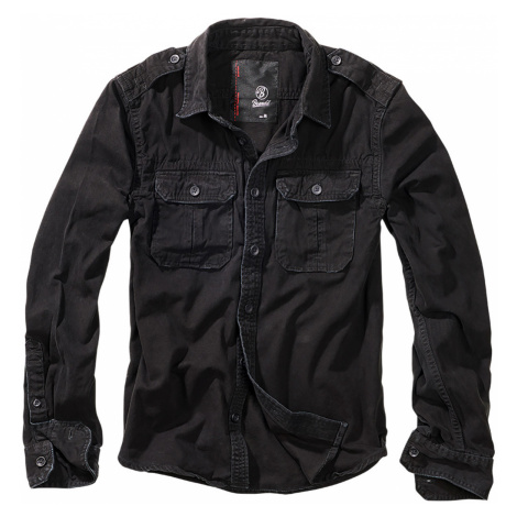 Brandit Hemd VINTAGE SHIRT BD9373 Black