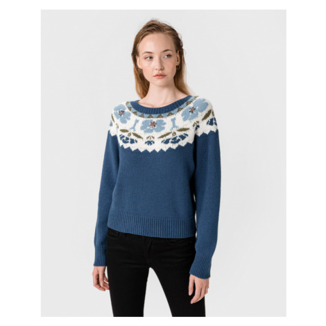 TWINSET Pullover Blau